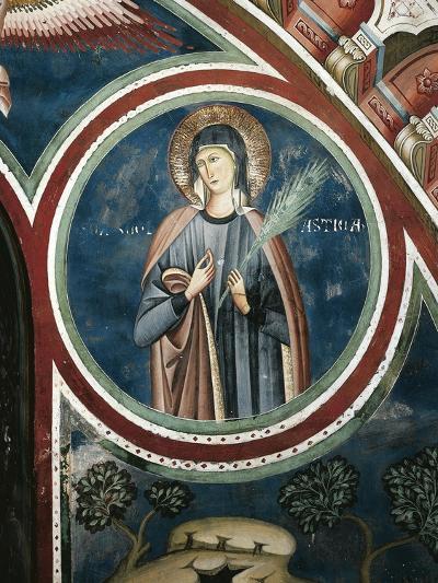 Saint Scholastica, 13th Century--Giclee Print