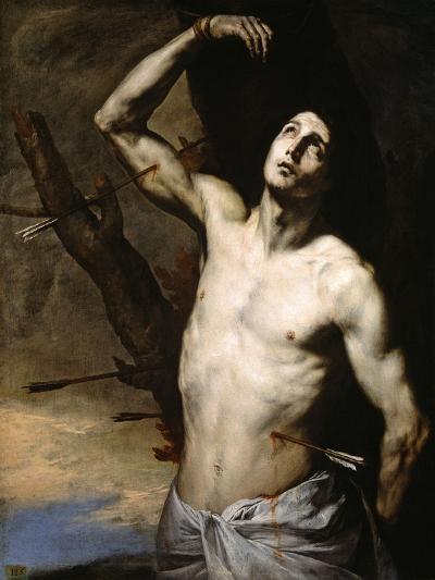 Saint Sebastian, 1636-Jusepe de Ribera-Giclee Print