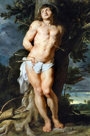 Saint Sebastian, C. 1618-Peter Paul Rubens-Giclee Print