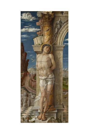 Saint Sebastian, Ca 1459-Andrea Mantegna-Giclee Print