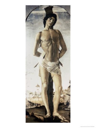 Saint Sebastian-Sandro Botticelli-Giclee Print