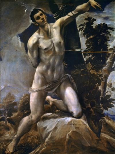 Saint Sebastian-El Greco-Giclee Print