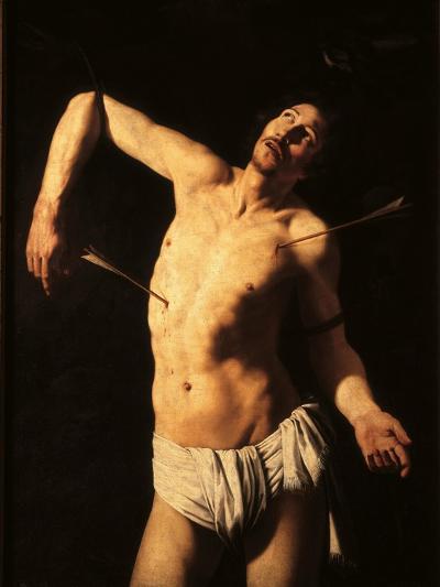 Saint Sebastian-Caravaggio-Art Print