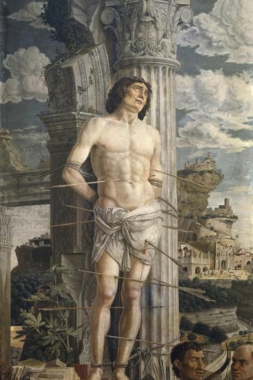 Saint Sebastian-Andrea Mantegna-Art Print