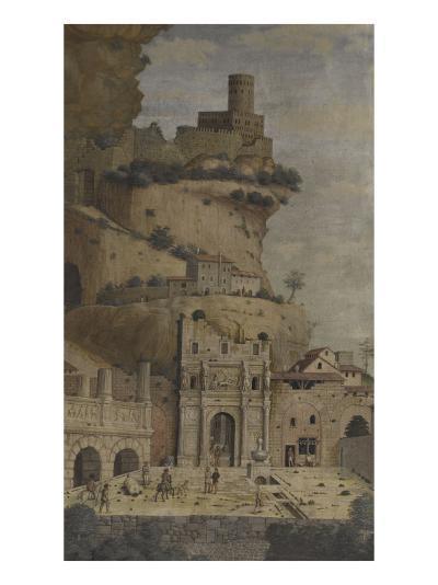 Saint Sébastien-Andrea Mantegna-Giclee Print
