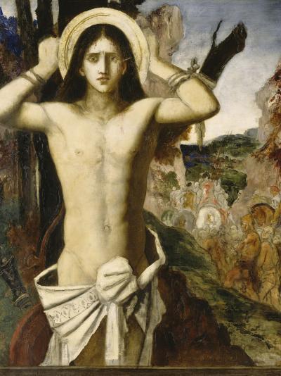 Saint Sébastien-Gustave Moreau-Giclee Print