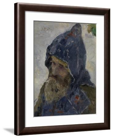 Saint Sergius of Radonezh-Mikhail Vasilyevich Nesterov-Framed Giclee Print