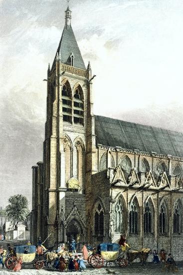 Saint Severin Church, Paris, France 19th Century--Giclee Print