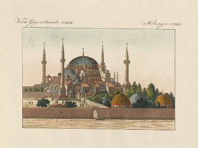 Saint-Sophia Cathedral in Constantinople--Giclee Print