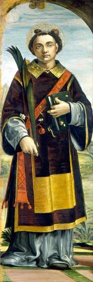 Saint Stephen-Bernardo Zenale-Giclee Print