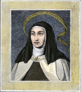 Saint Teresa of Avila, Founder of the Carmelite Reform Convent, 1500s