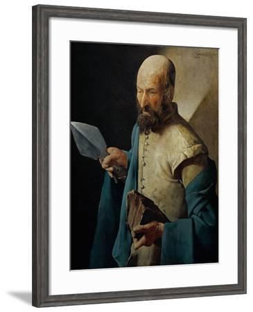 Saint Thomas-Georges de La Tour-Framed Giclee Print