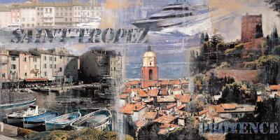Saint-Trope, Provence-John Clarke-Art Print