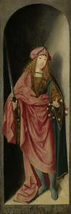 Saint Valerian, Left Wing of a Triptych Attributed to Master of the Brunswick Diptych, c.1490-1500 by Saint Valerian