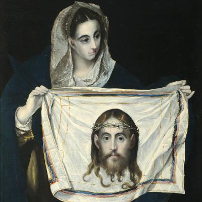 Saint Veronica-El Greco-Giclee Print