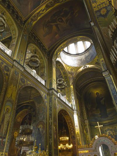 Saint Volodymyr's Cathedral, Kiev, Ukraine, Europe-Graham Lawrence-Photographic Print