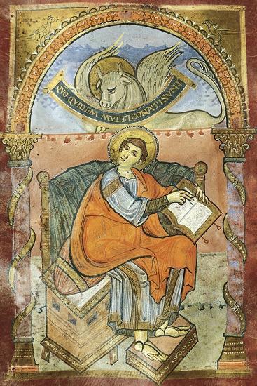 Saint Wenceslas, Miniature from the Vysehrad Gospels--Giclee Print