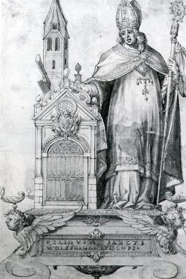Saint Wolfgang of Regensburg (C.934- 994)--Giclee Print