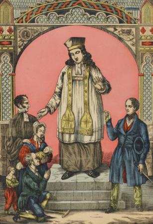 Saint Yves de Tréguier, patron des avocats