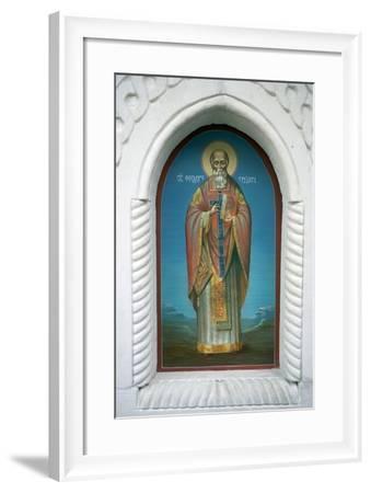 Saint--Framed Photographic Print