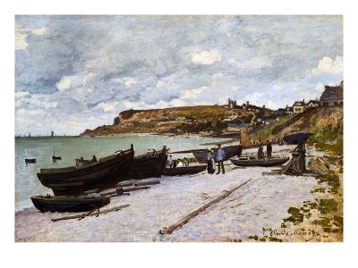 Sainte-Adresse-Claude Monet-Giclee Print