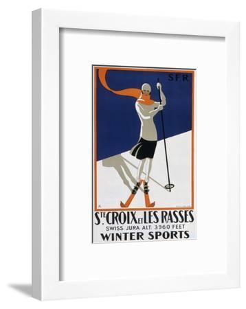 Sainte-Croix Et Les Rasses--Framed Giclee Print