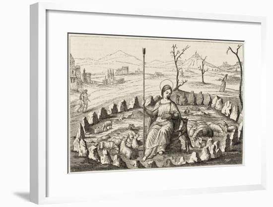 Sainte Genevieve--Framed Giclee Print