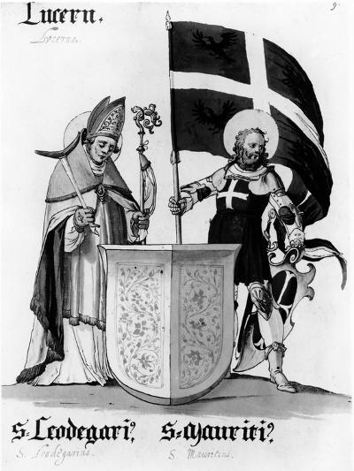 Saints Leodegarius and Mauritius--Giclee Print