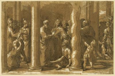 Saints Peter and John Curing the Sick-Raphael-Giclee Print