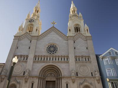 Saints Peter and Paul Church, Washington Square, Telegraph Hill, San Francisco, California, Usa-Rainer Mirau-Photographic Print