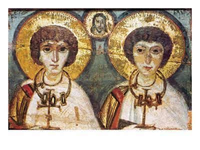 Saints Sergius And Bacchus--Giclee Print