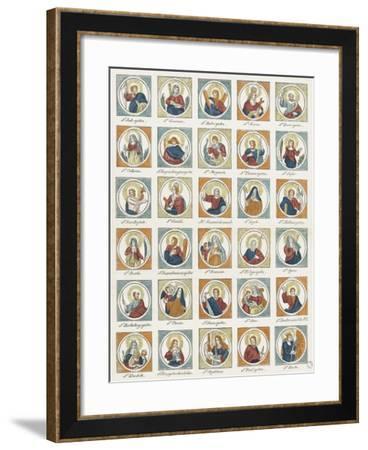 Saints--Framed Giclee Print