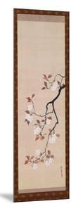 Hanging Scroll Depicting Cherry Blossoms, from a Triptych of the Three Seasons, Japanese by Sakai Hoitsu