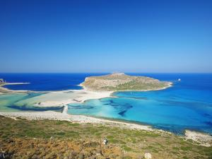 Balos Bay and Gramvousa, Chania, Crete, Greek Islands, Greece, Europe by Sakis Papadopoulos