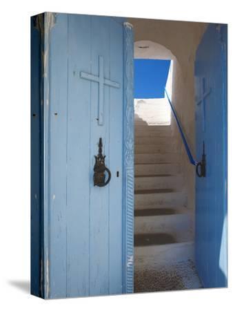 Church Entrance, Chania, Crete, Greek Islands, Greece, Europe