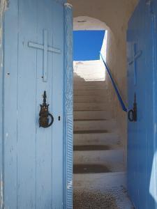Church Entrance, Chania, Crete, Greek Islands, Greece, Europe by Sakis Papadopoulos
