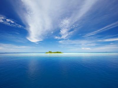 Deserted Island, Maldives, Indian Ocean, Asia by Sakis Papadopoulos
