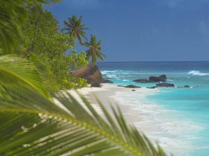 Empty Beach, Seychelles, Indian Ocean, Africa by Sakis Papadopoulos