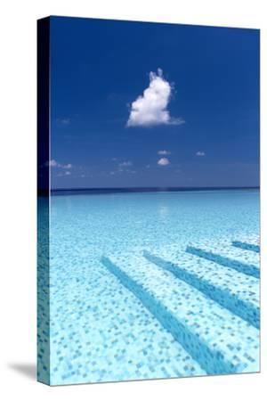 Infinity Pool in the Maldives, Indian Ocean