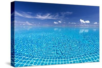 Infinity Pool, Maldives, Indian Ocean, Asia