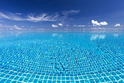 Infinity Pool, Maldives, Indian Ocean, Asia by Sakis Papadopoulos