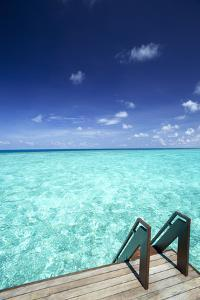 Stairs to the Ocean, Maldives, Indian Ocean by Sakis Papadopoulos