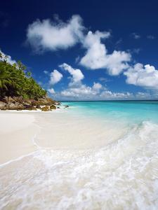Tropical Beach, Seychelles, Indian Ocean, Africa by Sakis Papadopoulos