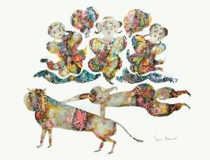 Spectacle À Trois by Sakti Burman