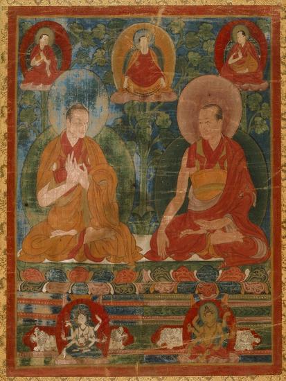 Sakyasri and the Lostsawa of Trophu--Art Print