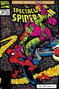 Spectacular Spider-Man No.200 Cover: Spider-Man and Green Goblin by Sal Buscema