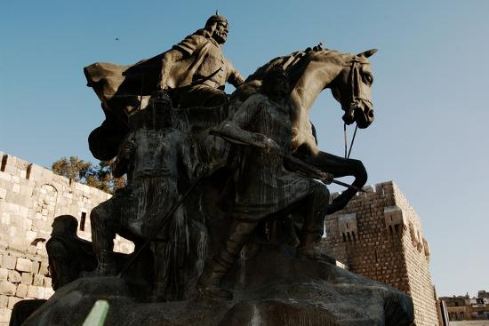 Saladin Memorial, Entrance to Citadel, Damascus, Syria--Photographic Print