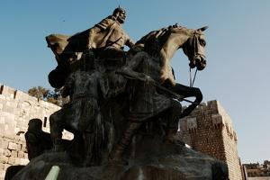Saladin Memorial, Entrance to Citadel, Damascus, Syria