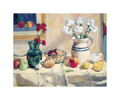 Still Life with Vase and Pitcher