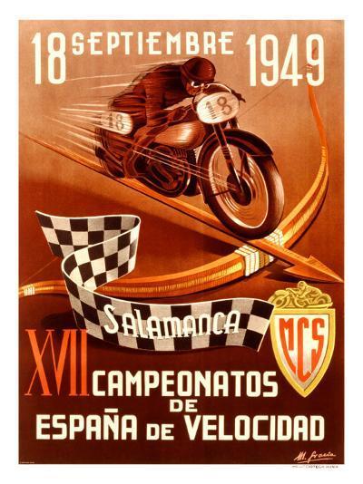 Salamanca Moto-Gracia-Giclee Print